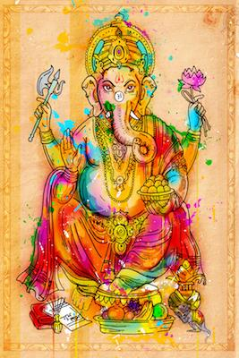 Ganesha | Inkquisitive Art