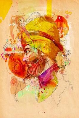 King without a Crown | Inkquisitive Art