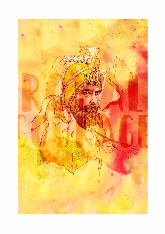 Royal Courage | Inkquisitive Art