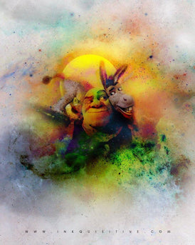 Shrek | Inkquisitive Art