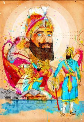 Tenth Guru III (Hemkunt Sahib) | Inkquisitive Art