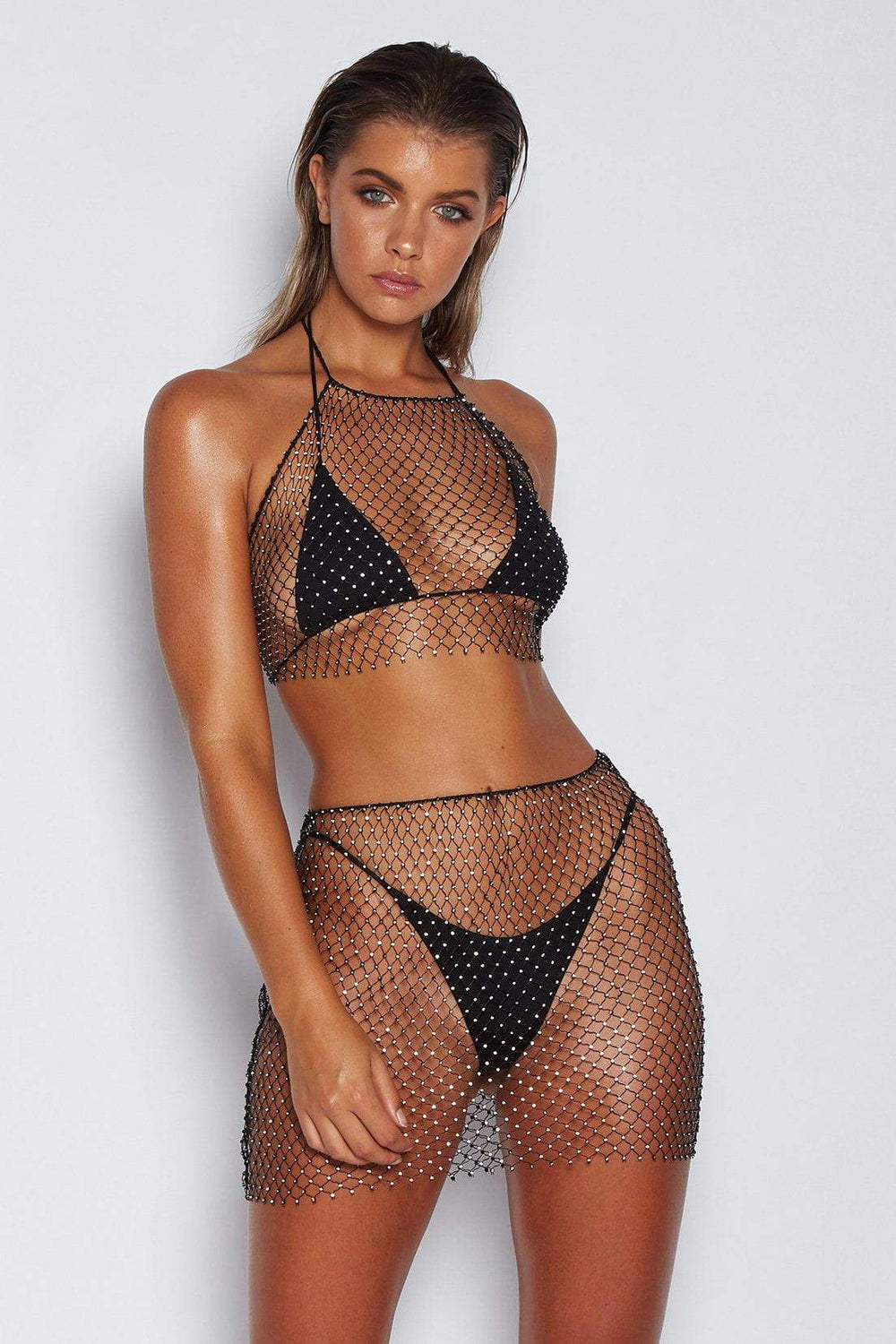 614e7a2114830 After Party Transparent Mesh Skirt – Miss Bella Fashion