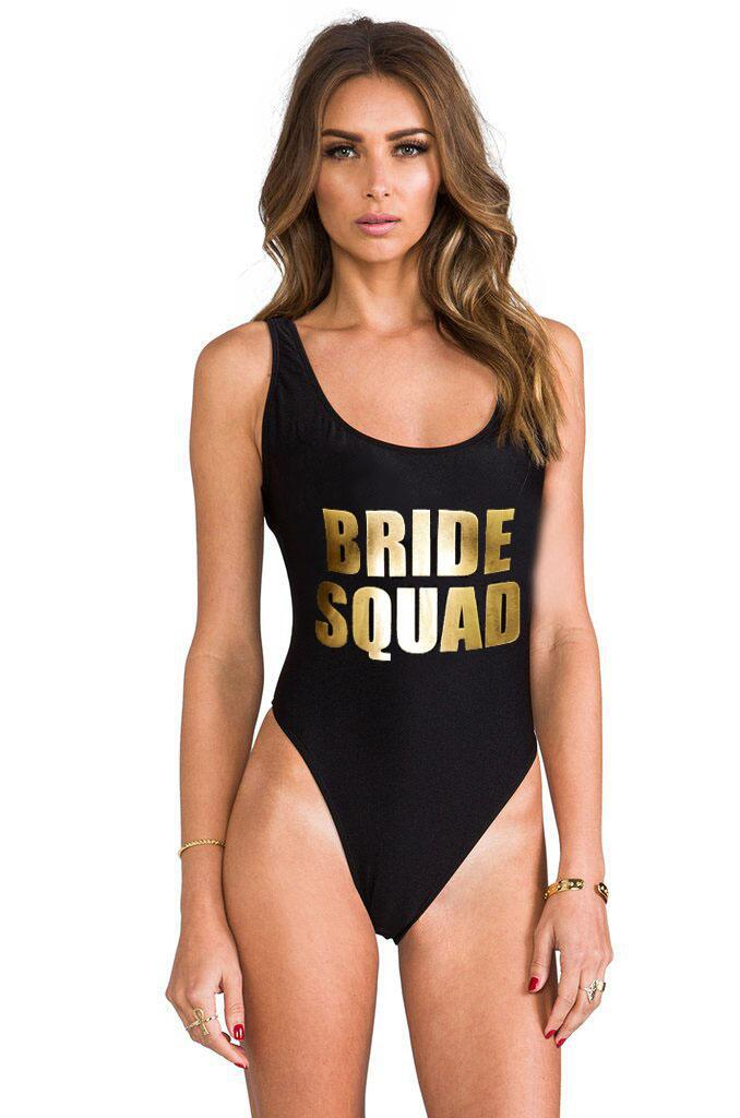 BRIDE SQUAD Swimwear