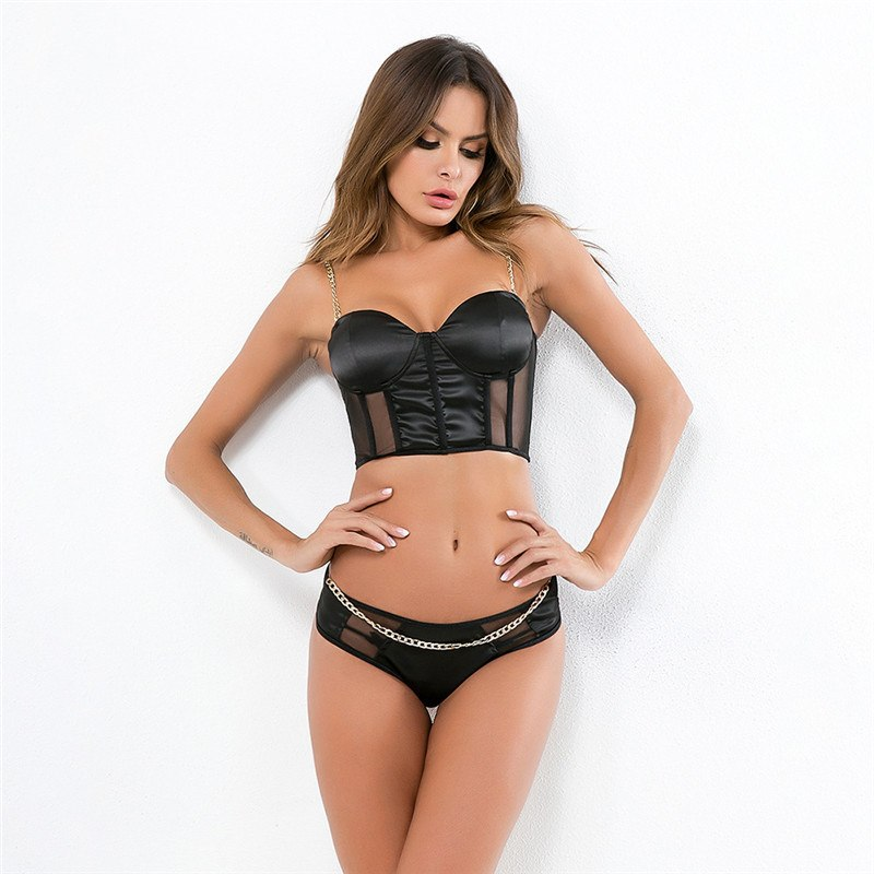 BE LOVED Chain Lingerie Set