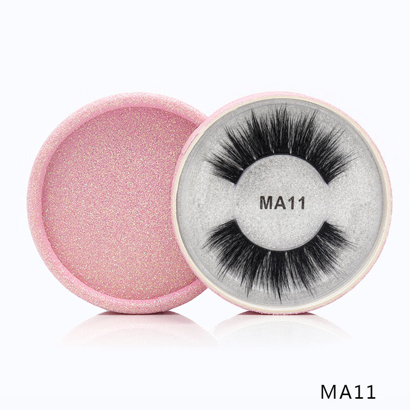 3D Silk Protein False Eyelashes 11
