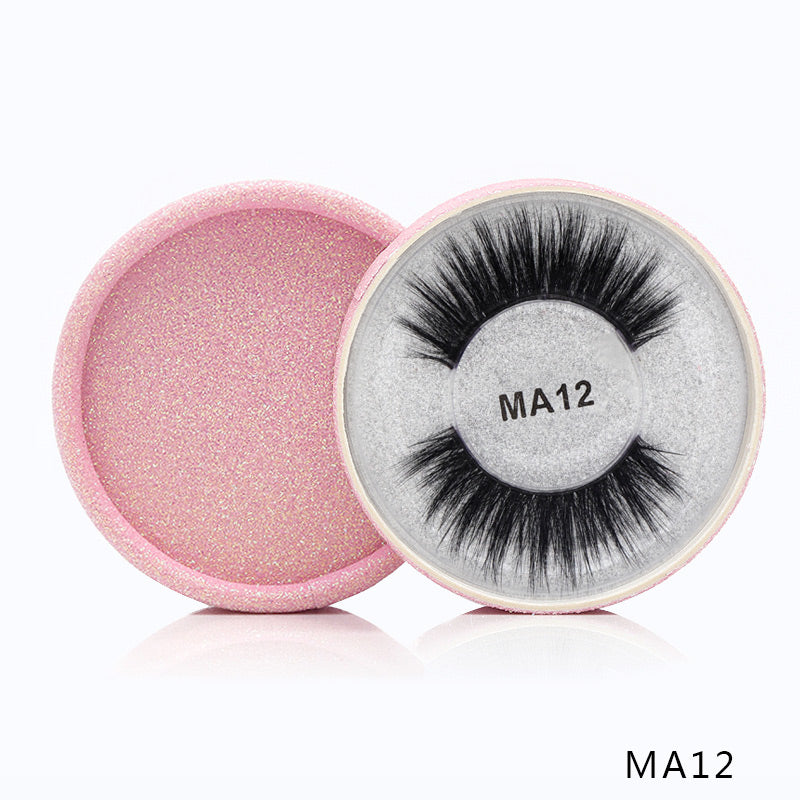 3D Silk Protein False Eyelashes 12
