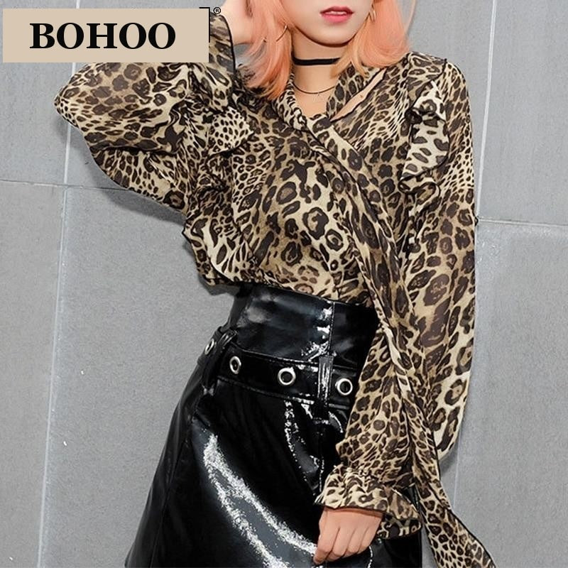 BROOKE Leopard Blouse