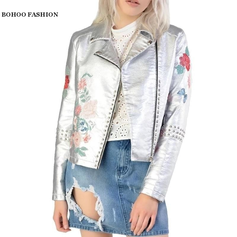 On The Go PU Leather Jacket