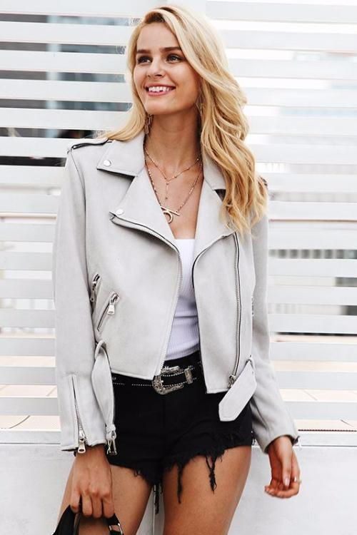 Dream Come True Faux Leather Jacket