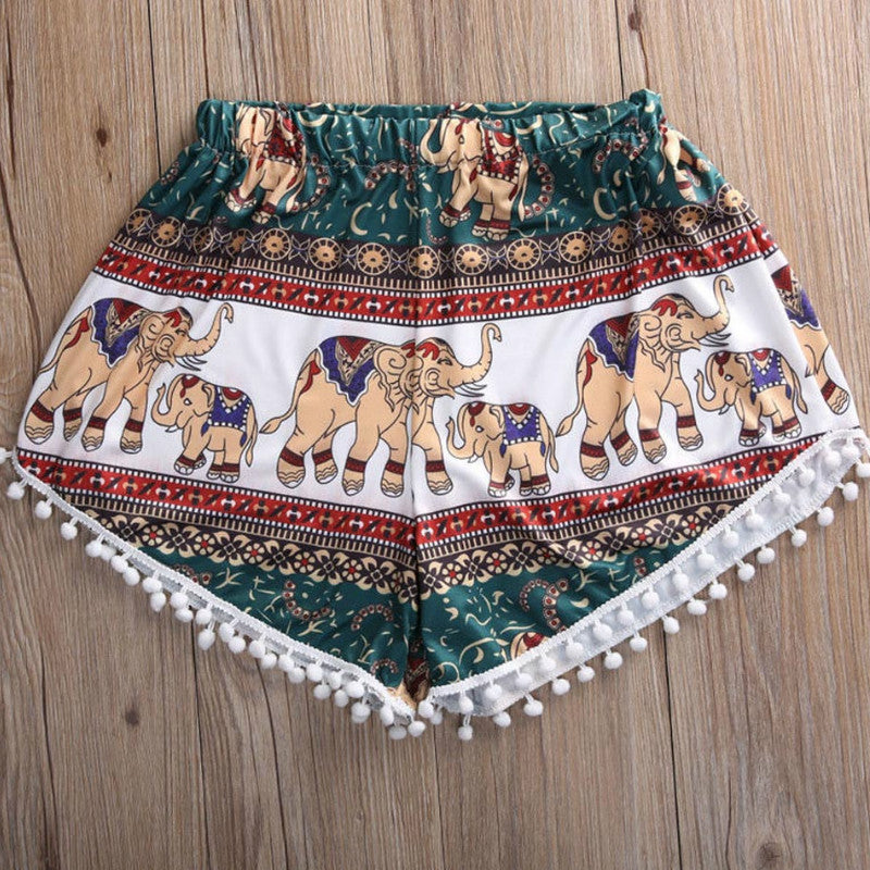 Fatima Summer Mini Shorts