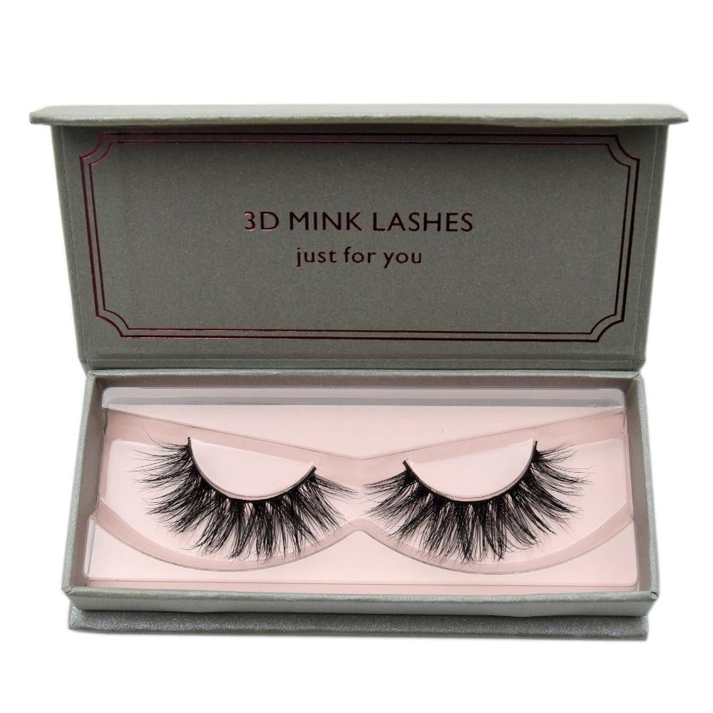 3D False Mink Natural Long Eyelashes