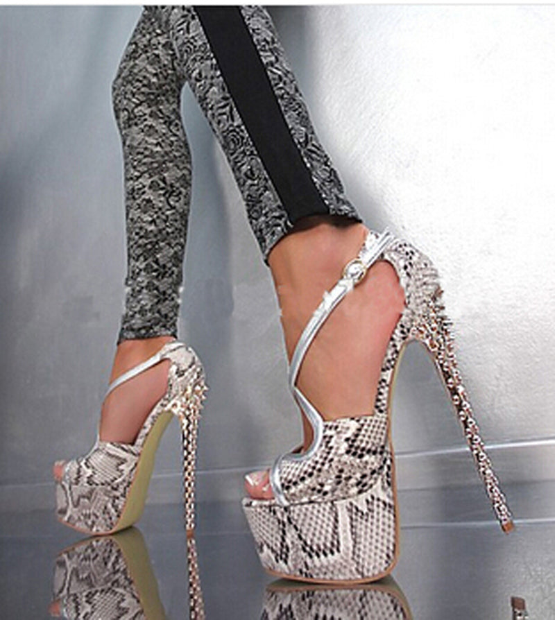 Bad Girl Platform High Heels