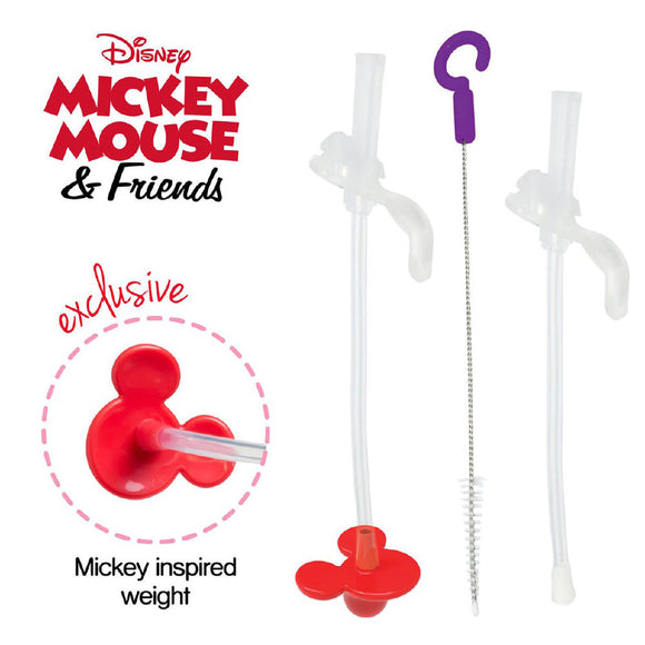 b.box x Disney - Sippy Cup Replacement Straw and Cleaning Kit - Mickey