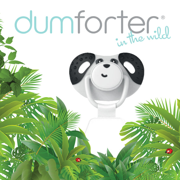 3 in 1 Dumforter (Soother, Teether & Comforter) - Pepper Panda