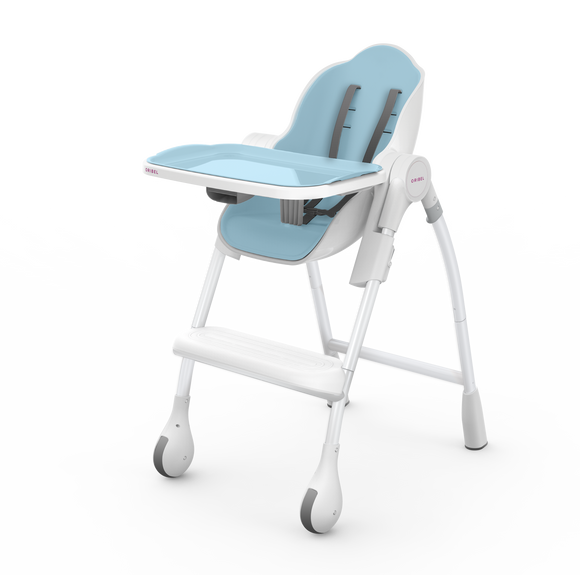 Oribel Cocoon - 3-Stage Highchair - Blueberry Marshmallow