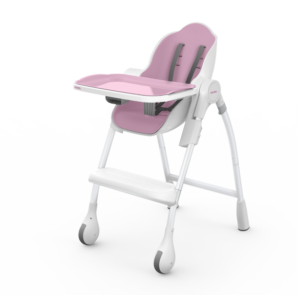 Oribel Cocoon - 3-Stage Highchair - Rose Meringue