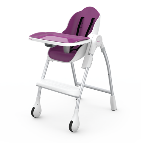 Oribel Cocoon - 3-Stage Highchair - Plum