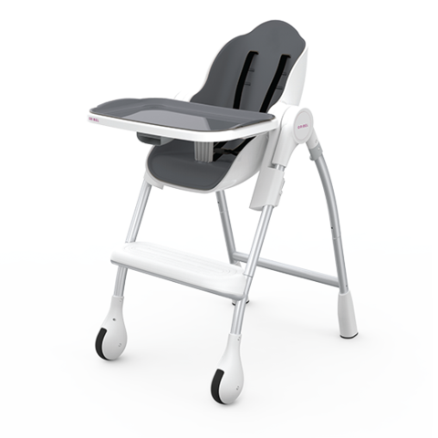 Oribel Cocoon - 3-Stage Highchair - Slate
