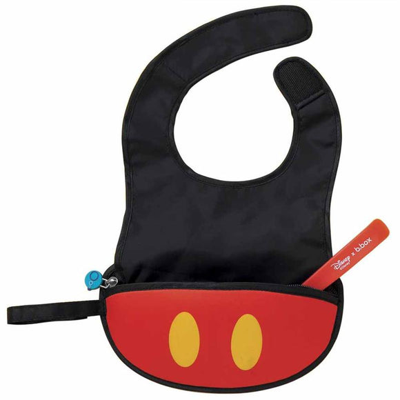b.box x Disney - Travel Bib with spoon - Mickey