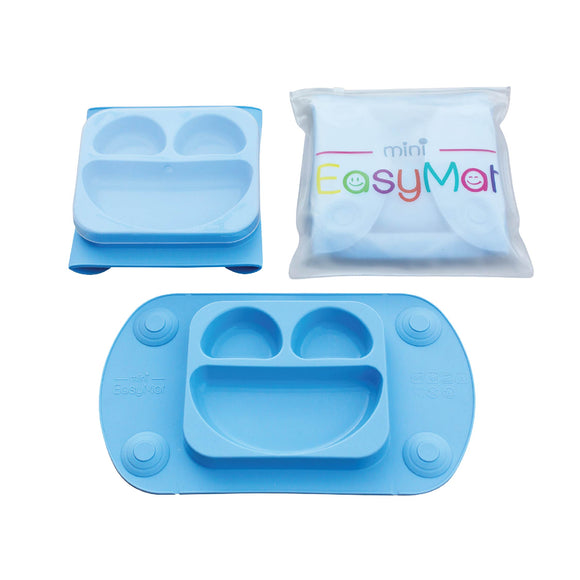 EasyMat Mini Portable Suction Plate - Blue