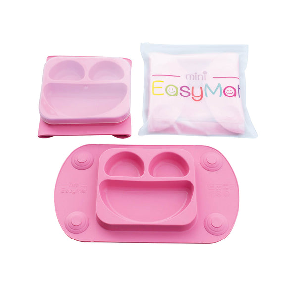 EasyMat Mini Portable Suction Plate - Pink