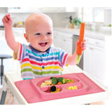 EasyMat Original 'Transition to Table' suction plate - Pink