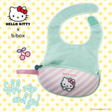 b.box x Hello Kitty Travel Bib with spoon - Candy Floss