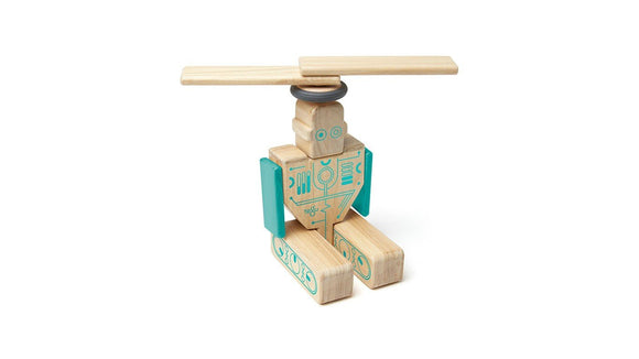 Tegu Future Magbot Magnetic Wooden Block