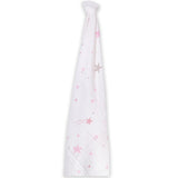 Momeasy Cotton Swaddling Blanket ( Single ) - 100x120cm - Shooting Stars Pink