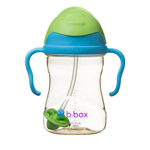 b.box NEW Sippy Cup - Deluxe Edition - PPSU - Blue Green
