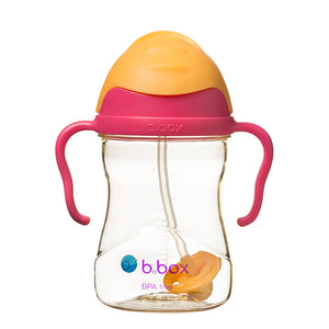 b.box NEW Sippy Cup - Deluxe Edition - PPSU - Pink Orange