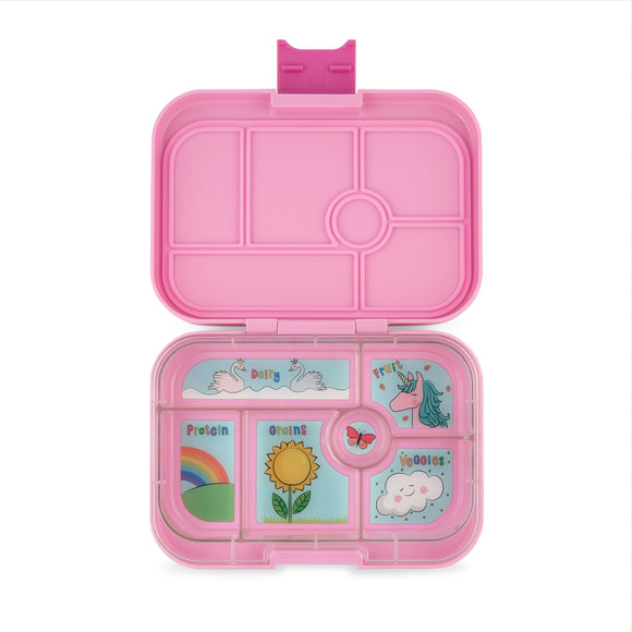 Yumbox Original Power Pink 6 Compartment Lunch Box