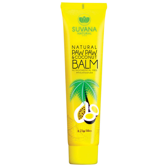 Suvana Paw Paw and Coconut Balm 25g