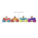 Tegu Magnetic Racers Poppy Racer Wooden Blocks
