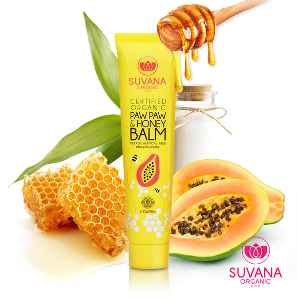 Suvana Paw Paw and Honey Balm 25g