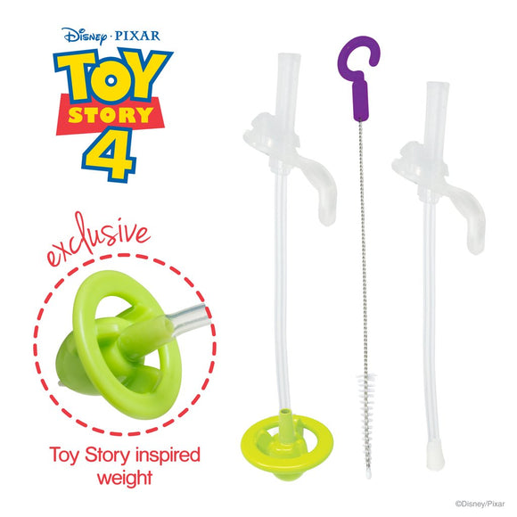 b.box x Disney - Sippy Cup Replacement Straw and Cleaning Kit - Buzz