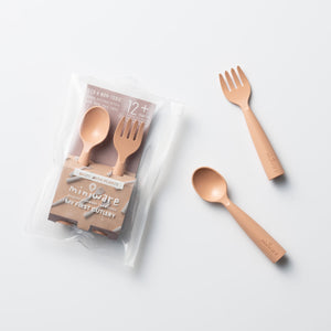 Miniware My First Cutlery Set in PLA Toffee