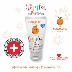 Switzerland Kids Toothpaste - Mandarin Delight 1-6yrs (50ml)