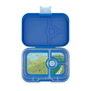 Yumbox Panino True Blue 4 Compartment Lunch Box