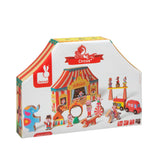 Janod Story Box Circus Building Set