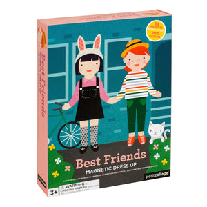 Petit Collage Magnetic Dress-Up - Best Friends