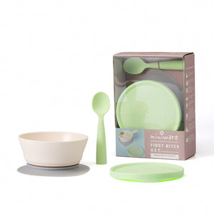 miniware-first-bite-set-pla-cereal-suction-bowl-vanilla-+-silicone-spoon-and-cover-in-cotton-keylime- (1)