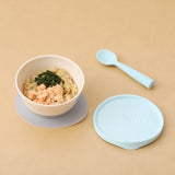 miniware-first-bite-set-pla-cereal-suction-bowl-vanilla-silicone-spoon-and-cover-in-aqua- (3)