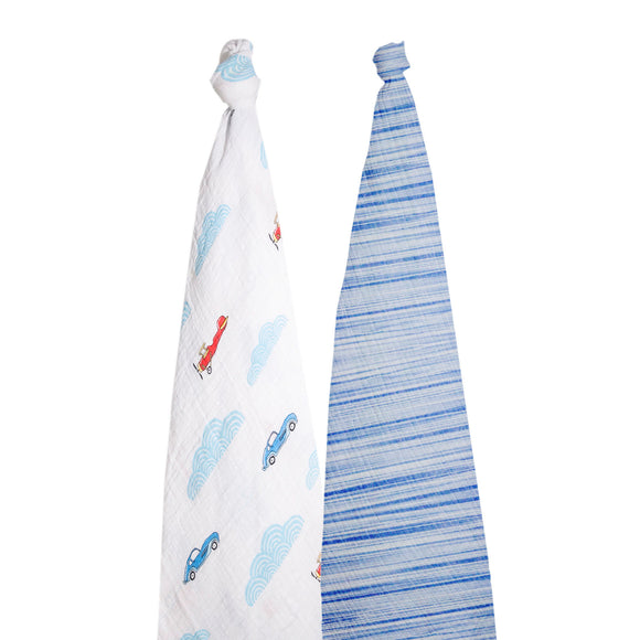 momeasy-cotton-swaddling-blanket-(2pack)-100x120cm-plane-and-car-blue- (1)