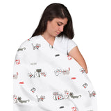 momeasy-cotton-swaddling-blanket-(single)-100x120cm-lovecats- (4)
