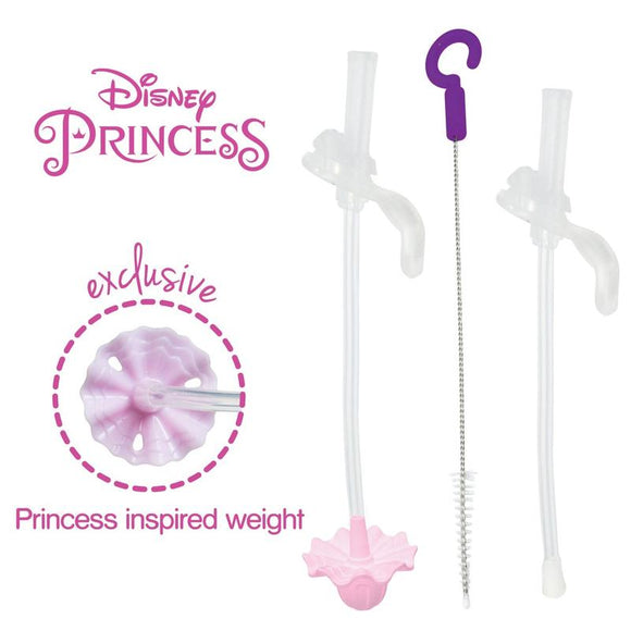 b.box x Disney - Sippy Cup Replacement Straw and Cleaning Kit - Princess