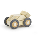 Tegu Speed Wheels Pack of Four Magnetic Wooden Block