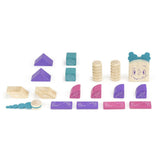 Tegu Sticky Monsters Marbles Magnetic Wooden Block