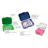 Yumbox Panino Power Pink 4 Compartment Lunch Box