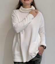 Load image into Gallery viewer, Winter-White Roll Neck Jumper
